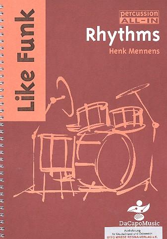 Like Funk Rhythms: for drums