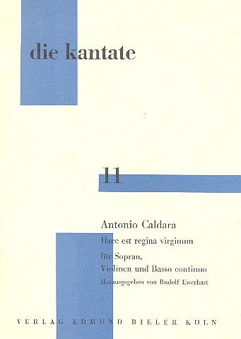 Caldara, Antonio - Haec est regina virginum :