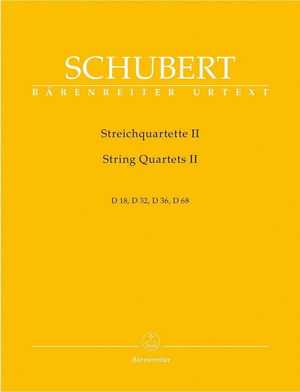 Schubert, Franz - Streichquartette Band 2