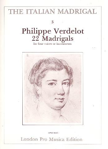 22 Madrigals: for 4 voices or instruments (SATB)