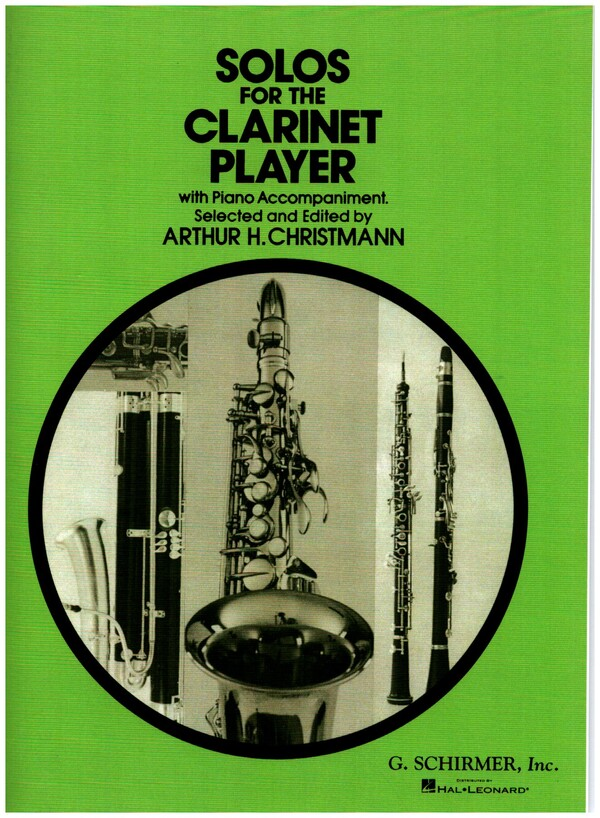 - Solos for the Clarinet Player :