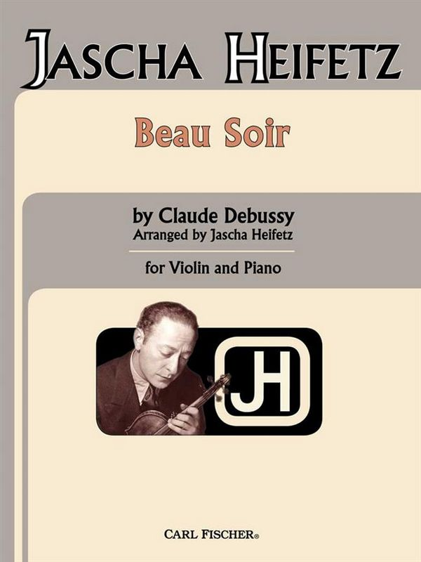 Debussy, Claude - Beau soir : for violin and piano
