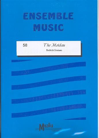 Die Moldau: für Streicher, Bläser in B/Es/F/C, Klavier