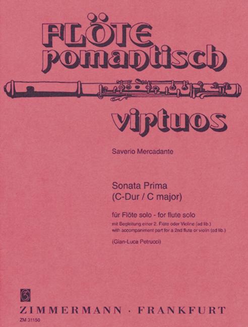 Mercadante, Saverio - Sonata prima C-dur :