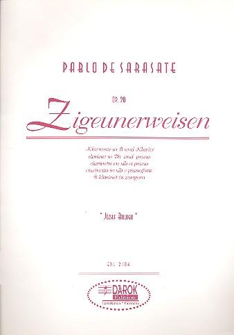 Sarasate, Pablo de - Zigeunerweisen op.20 :