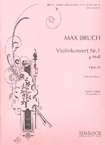 Bruch, Max - Konzert g-Moll Nr.1 op.26 für Violine