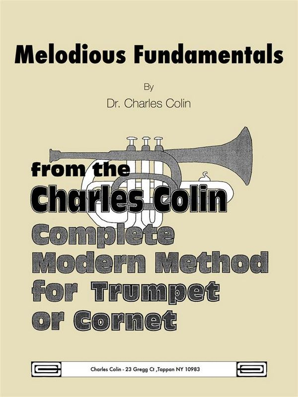 Colin, Charles - Melodious Fundamentals from the