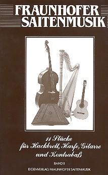 11 Stücke Band 2: für Hackbrett, Harfe, Gitarre und Kontrabaß