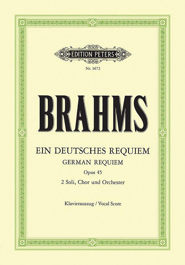 Ein deutsches Requiem op.45: