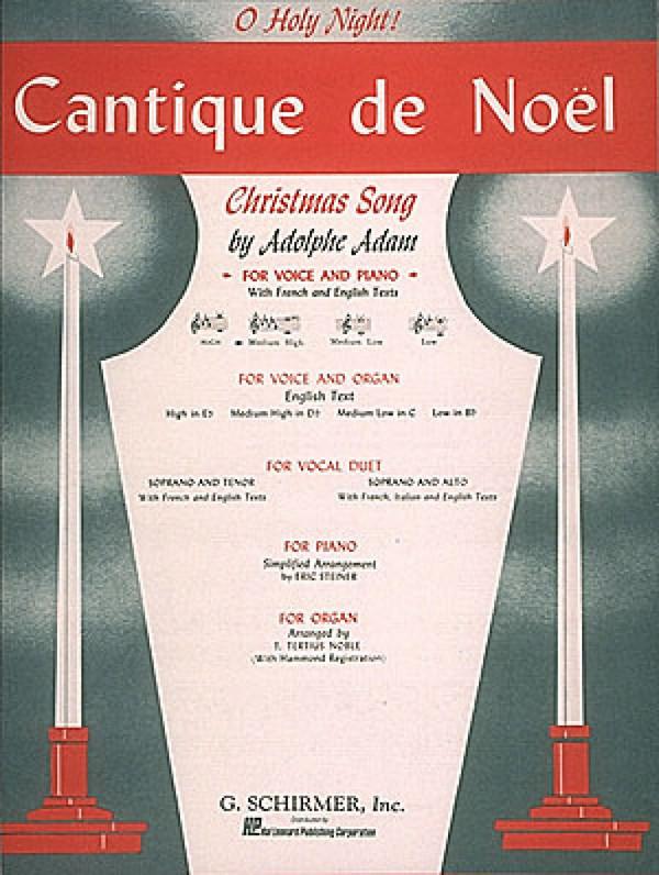 Adam, Adolphe Charles - Cantique de Noel :