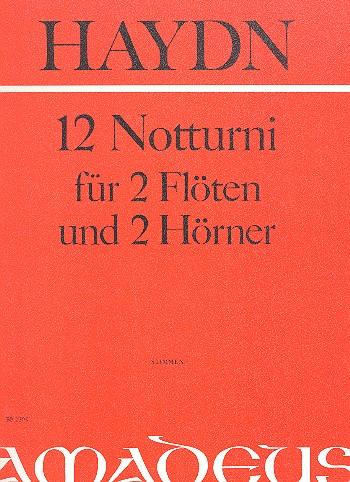 12 Notturni: für 2 Flöten und 2 Hörner