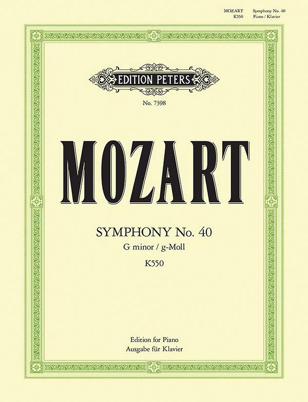 Mozart, Wolfgang Amadeus - Sinfonie g-Moll Nr.40 KV550 :