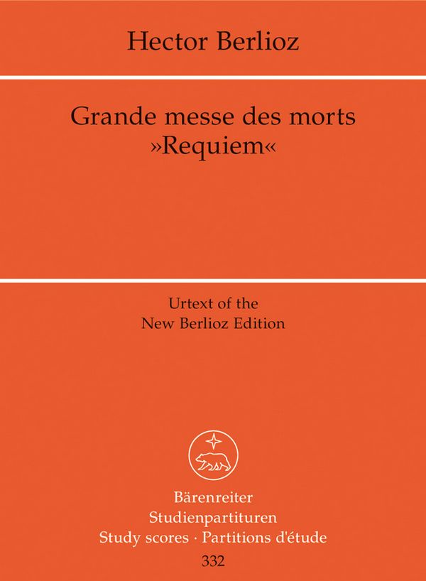 Grande messe des morts (Requiem) Studienpartitur