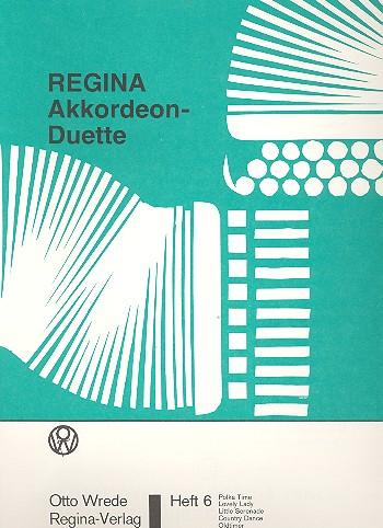 Dieser, Josef - Regina-Akkordeon-Duette Band 6 :