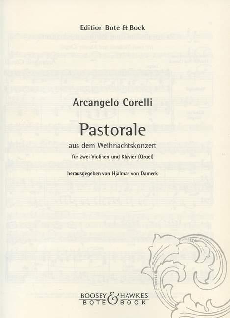 Corelli, Arcangelo - Pastorale aus dem Weihnachtskonzert