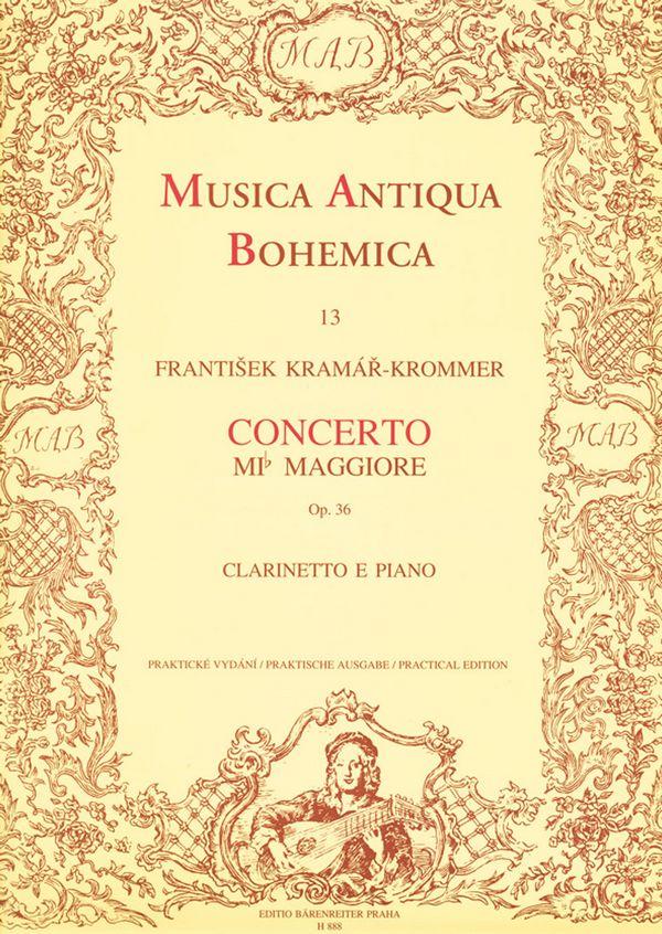 Krommer, Franz Vinzenz - Concerto Es-Dur op.36 für