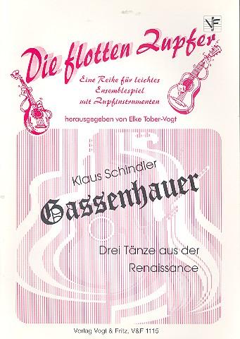 Gassenhauer: für Zupforchester