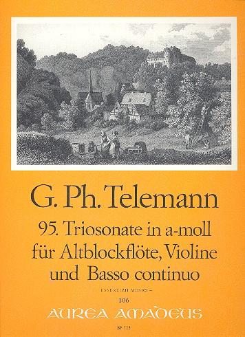Telemann, Georg Philipp - Triosonate a-Moll Nr.95 : für