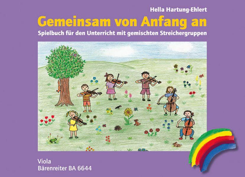 Gemeinsam von Anfang an - Spielbuch: für Viola