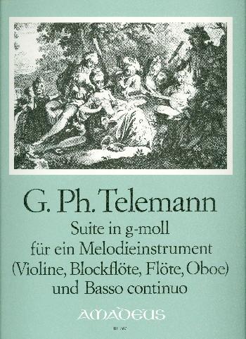 Telemann, Georg Philipp - Suite g-Moll : für Melodieinstrument