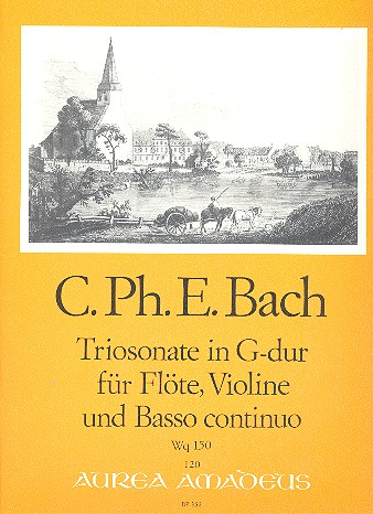 Bach, Carl Philipp Emanuel - Triosonate G-Dur wq150 :