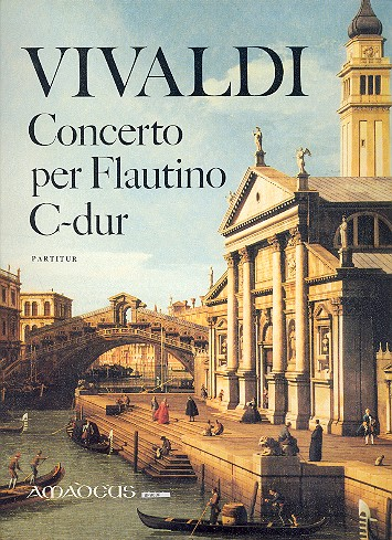 Concerto C-Dur op.44,11: für Flautino (Altblockflöte), Streicher und Bc