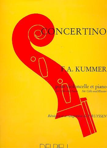 Kummer, Friedrich August d. J. - Concertino : pour violoncelle et piano