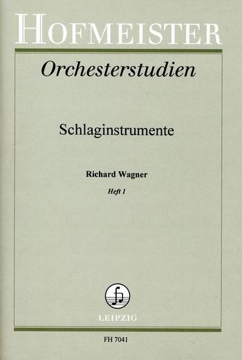 Orchesterstudien für Schlaginstrumente Band 1