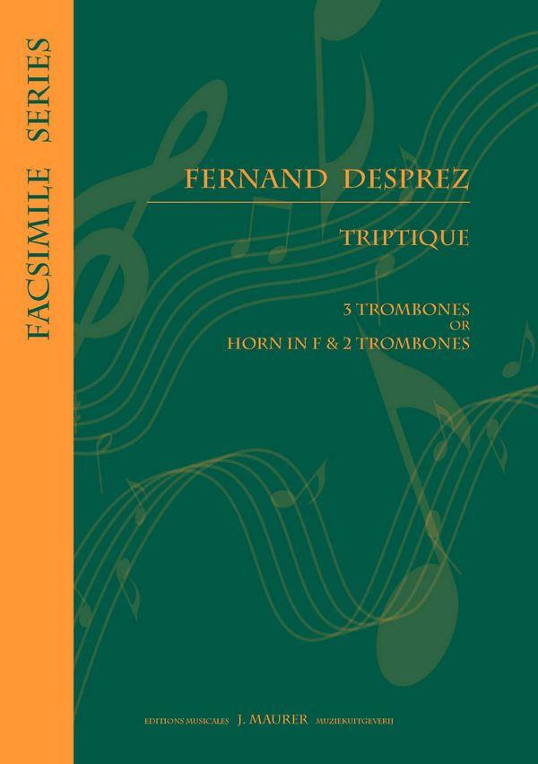 Triptyque: pour 3 trombones ou cor et 2 trombones