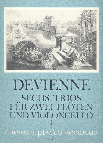 Devienne, Francois - 6 Trios op.19 Band 1 (nr.1-3) :