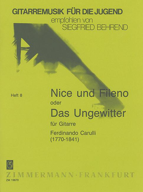 Carulli, Ferdinando - Nice und Fileno  oder