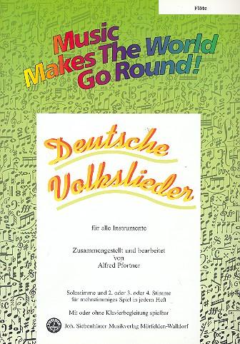 - Deutsche Volkslieder : für flexibles Ensemble