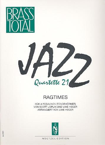- Jazz Quartette 21 : 3 Ragtimes für