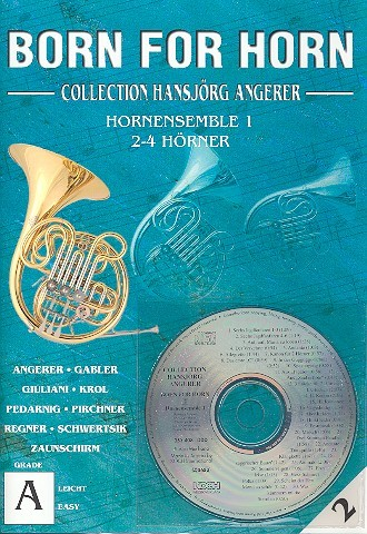 Born for horn Band 2 (+ CD):
