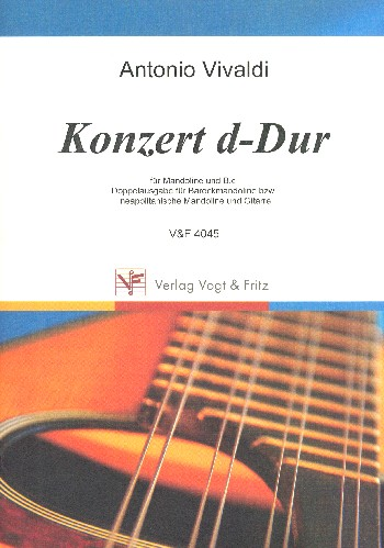 Konzert D-Dur: füer Mandoline und Bc