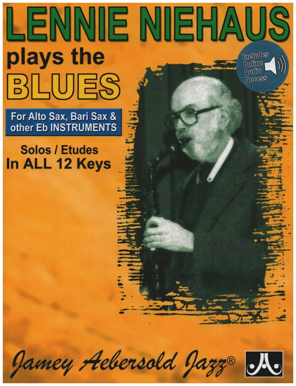 Niehaus, Lennie - Lennie Niehaus plays the Blues (+CD) :