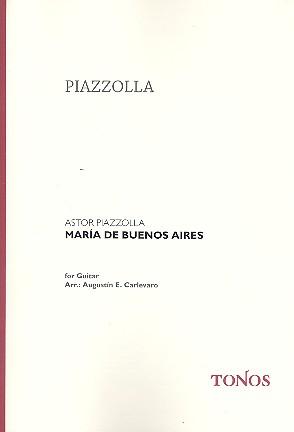 Piazzolla, Astor - Maria de Buenos Aires : Suite para