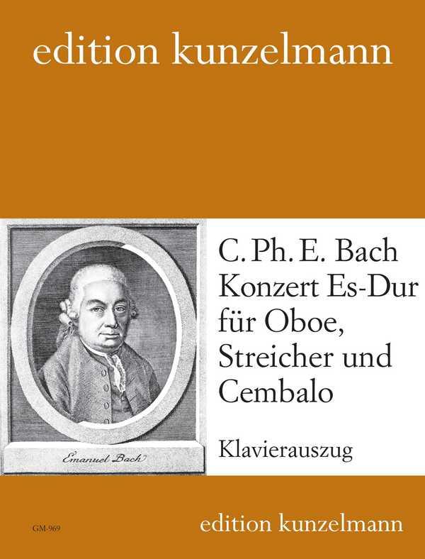 Bach, Carl Philipp Emanuel - Konzert Es-Dur für Oboe, Streicher