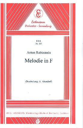 Rubinstein, Anton Grigorjewitsch - Melodie op.3,1 :