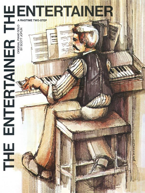 The Entertainer: for piano