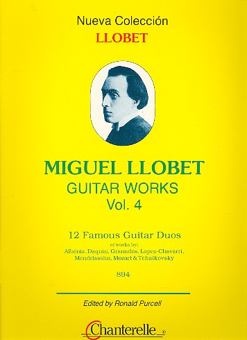 12 famous Guitar Duos of Works by Albeniz, Daquin, Granados...