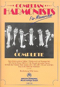 Comedian Harmonists Complete: für Männerchor