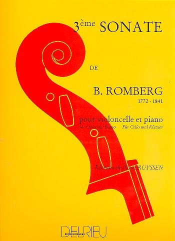 Romberg, Bernhard Heinrich - Sonate sol majeur no.3 (premier
