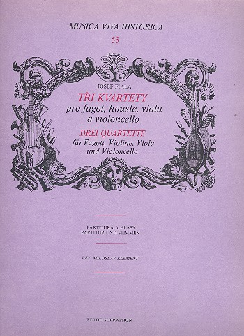 3 Quartette: für Fagott, Violine, Viola und Violoncello