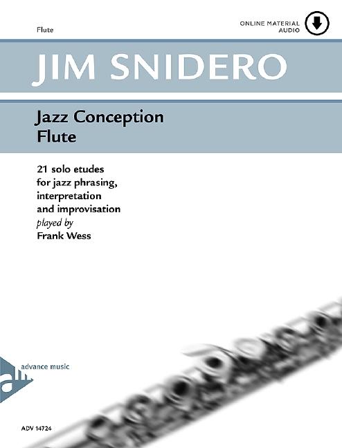 Snidero, Jim - Jazz Conception for flute (+CD) : 21 solo