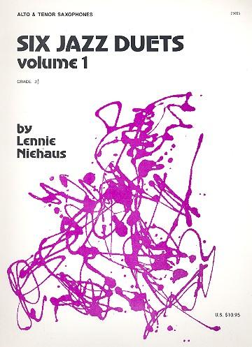 6 Jazz Duets vol.1: for 2 saxophones (grade 3,5)