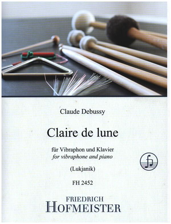 Clair de lune: für Vibraphon und Klavier