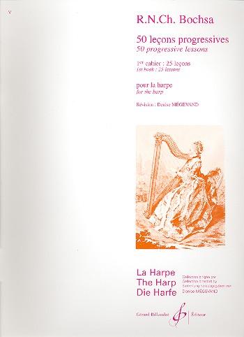 Bochsa, Robert Nicolas-Charles - 50 lecons progressives vol.1 : pour