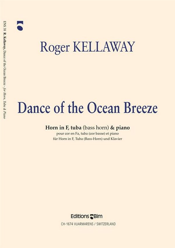 Dance of the Ocean Breeze: for horn in F, Tuba (Bass Horn) and piano