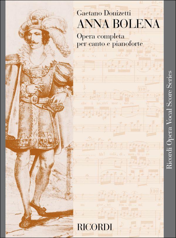 Donizetti, Gaetano - Anna Bolena : Klavierauszug
